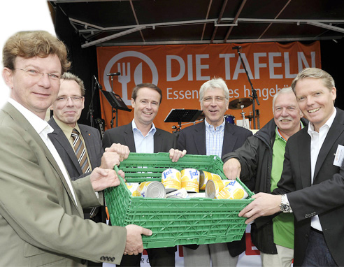 IFCO sponsoring delights at the 2011 Tafel Federal Congress in Kassel