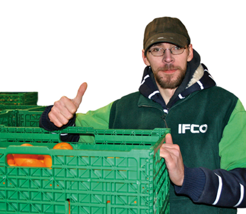 IFCO supports Food Bank with reusable containers