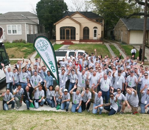 IFCO puts Worldwide Responsibility into action with massive New Orleans volunteer effort