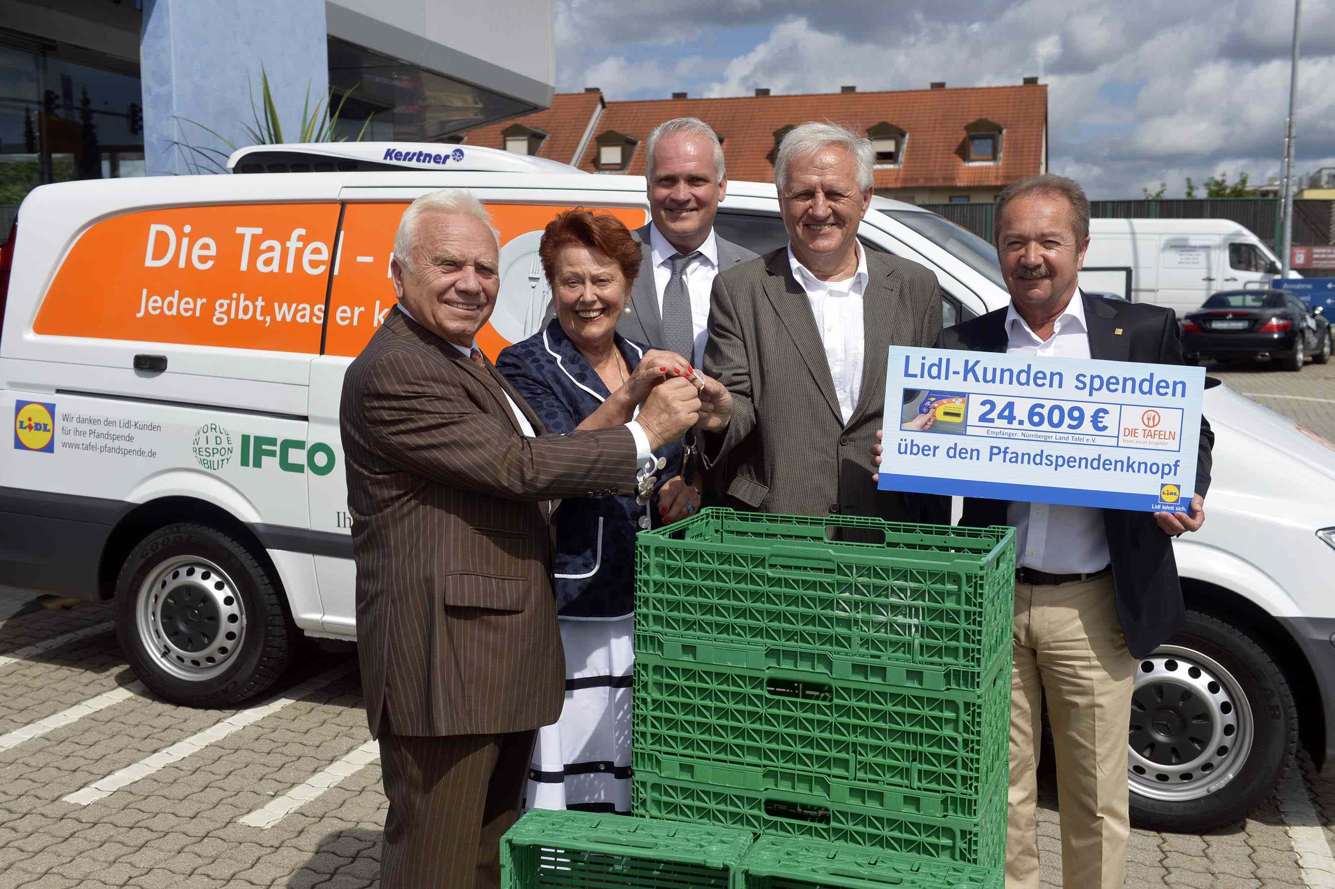 Nürnberger Land Tafel and IFCO: long-term partnership under the banner of WORLDWIDE RESPONSIBILITY