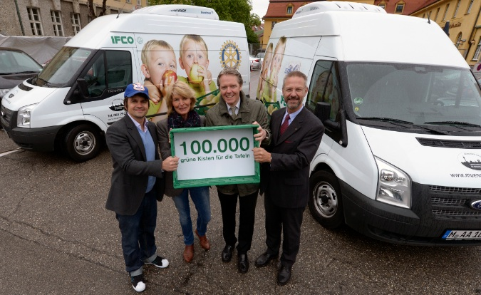 IFCO supports the Munich Food Bank